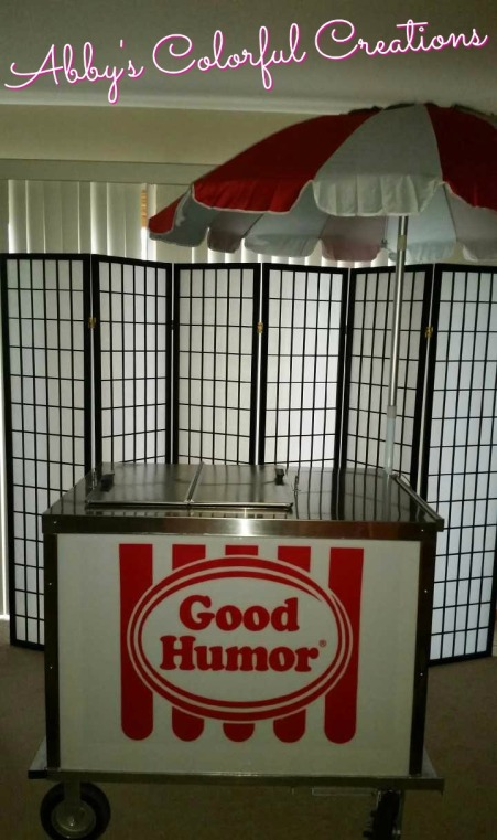 ACC Ice Cream Cart