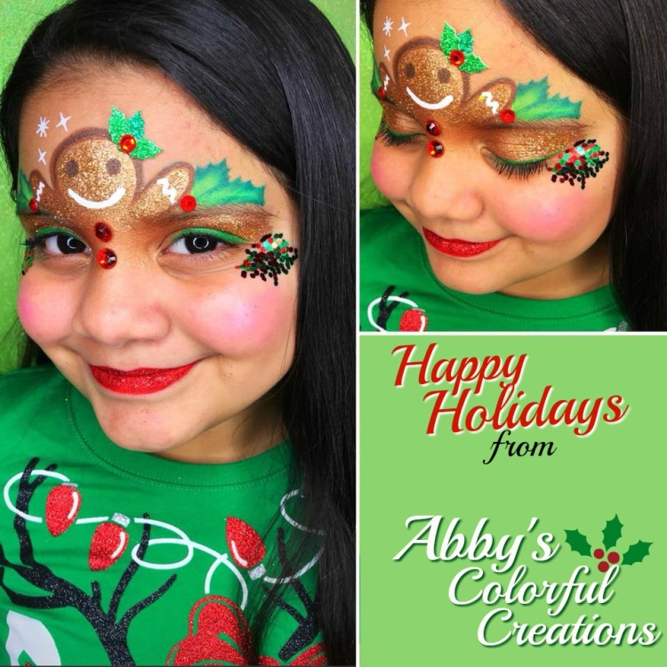 Christmas_face_paint_chicago_abby_solideo_hollies_glitter_girl_holidays