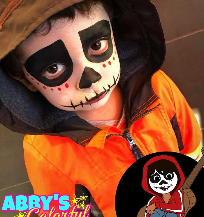 chicago_face_paint_abby_ascencio_coco_boy_design_sugar_skull