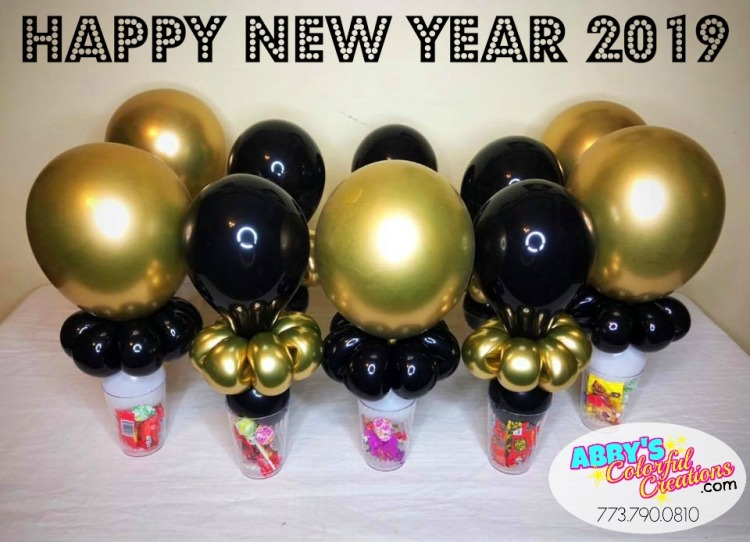 2_chicago_balloon_twist_twisting_abby_ascencio_candy_cups_centerpieces_goodie_bags_party_favors_happy_new_year_celebrations_2018_countdown