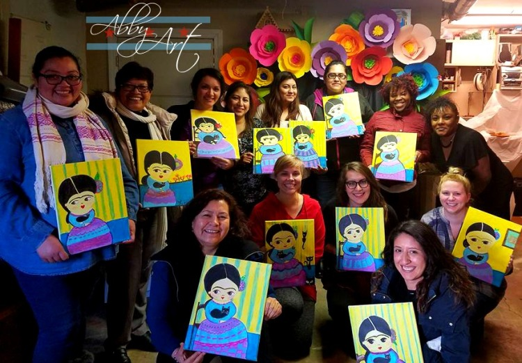 1chicago_canvas_abby_ascencio_party_kids_colorful_christmas_gingerbread_birthday_group_shot_frida_khalo.jpg